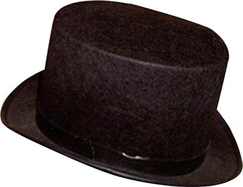 Chapeau Haut de Forme Noir - Enfant - Taille Unique