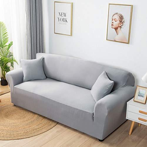 Verve Jelly Elastischer Sesselbezug 1-Stück Stretch Sofa-Überwürfe, Sofaüberzug, Sofahusse, Sofabezug, Sofa Abdeckung Hussen für Couch, Bezug Decke Sofabezüge 1/2/3/4 Sitzer