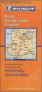 Michelin Nord-Pas-De Calais, Picardie, France (Michelin Local France)