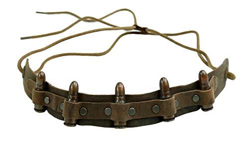 Kakadu Traders Leder Hutband Bullet
