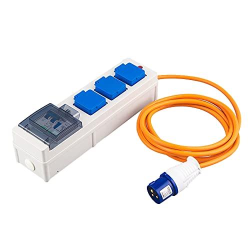 Unidad de alimentación móvil, 230v, 10a, 230v 10a