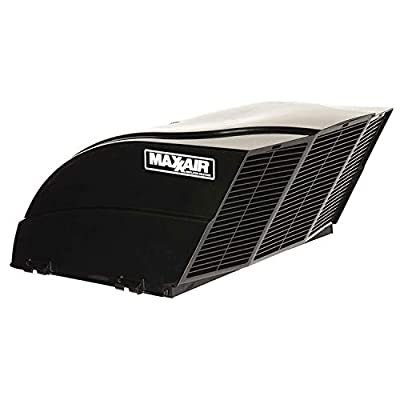 MAXXAIR 00-955002 Black Fanmate Cover with Ez Clip Hardware by Maxxair