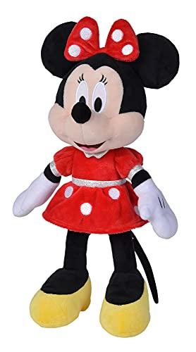 Peluche Minnie Mouse Vestido Rojo 35 cm (Simba 6315870229), A2102211
