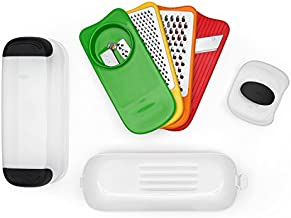 OXO Good Grips Spiralize Grate & Slice Set,Multicolor,One Size