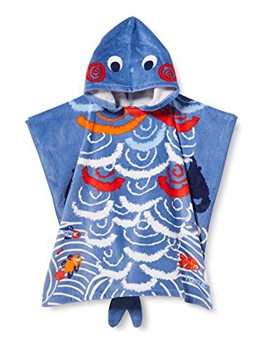 Tuc Tuc Poncho KAMOGAWA Salida de baño, Azul, U para Niñas