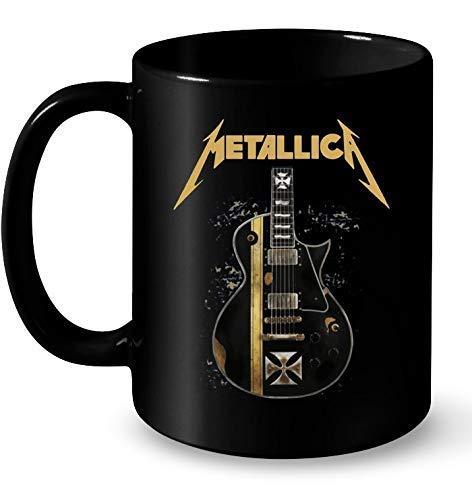 N\A Taza de Guitarra Metallica Coffee Cup Tea