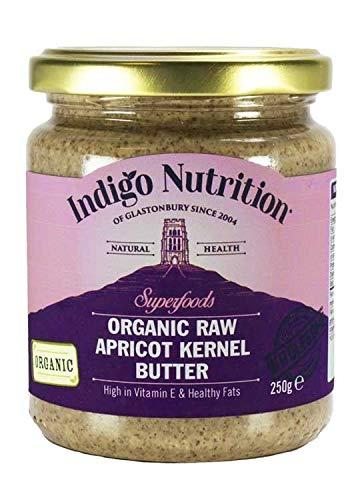 Indigo Herbs Mantequilla Cruda de Albaricoque Orgánico 250g
