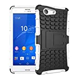 HHF-1 1fortunate pour Sony Xperia Z3 Z5 Compact, Armure antichocs Smart Cover Phone Case pour Sony...