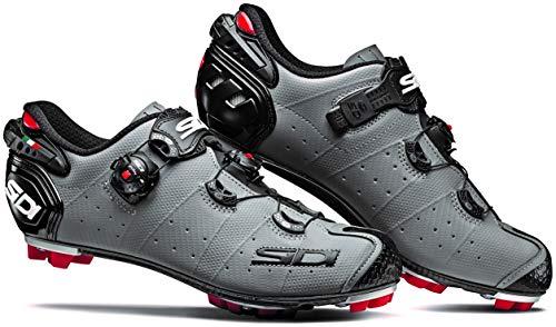 Sidi MTB Drako 2 SRS Schuhe Herren matt Grey/Black Schuhgröße EU 44 2020 Rad-Schuhe Radsport-Schuhe