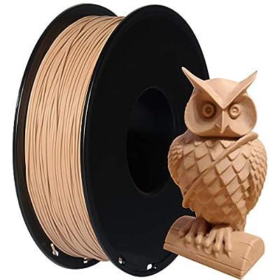 GIANTARM PLA 1.75 mm filament for 3D printer 1 kg, wood