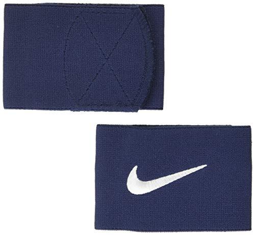 Nike GUARD STAY II - Cavigliera Uomo, Blu/Bianco, Taglia unica