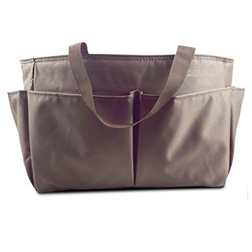 Born to Accessorize ,  Damen Tasche, mehrfarbig - 002_brown Large - Größe: Large