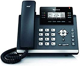 Yealink [4-Pack] T41S IP Phone, 6 Lines. 2.7-Inch Graphical LCD. Dual-Port Gigabit Ethernet, 802.3af PoE, Power Adapter Not Included (SIP-T41S-4)