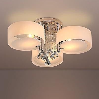 NATSEN ceiling lights for living room bedroom, Dining Room, Kitchen, bedroom, corridor,White