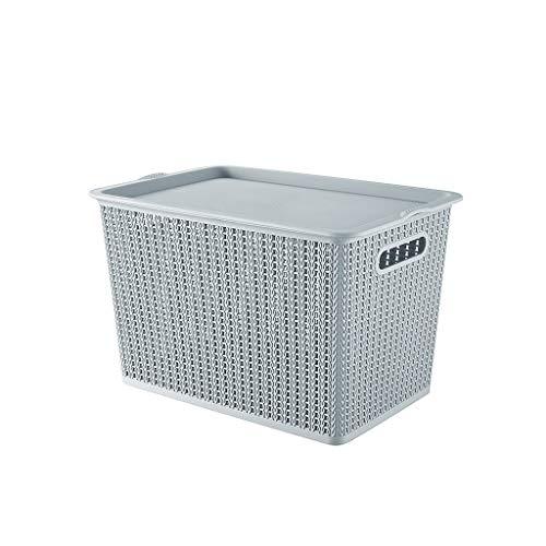 GLLP Canasta de Almacenamiento, Caja de Almacenamiento de Ropa, Caja de...