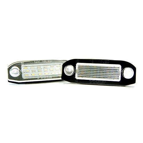 2 x LED Kennzeichenbeleuchtung Xenon Kennzeichen Leuchte 6000K