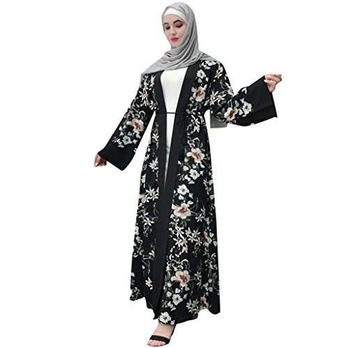 Robe Musulmane Femme Turque POPLY Moderne Grande Taille Pas Cher Musulman Robe De Soiree Caftan Femme Oriental Dubai Kaftan Abaya Femme Musulmane Noir Festival du Ramadan Mariage Robe Islamique