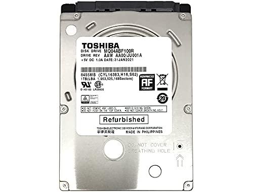 "TOSHIBA MQ04ABF100 1TB 5400RPM 8MB Cache (7mm) 2.5"" SATA 6.0Gb/s Internal Notebook Hard Drive - 2 Year Warranty (Renewed)"