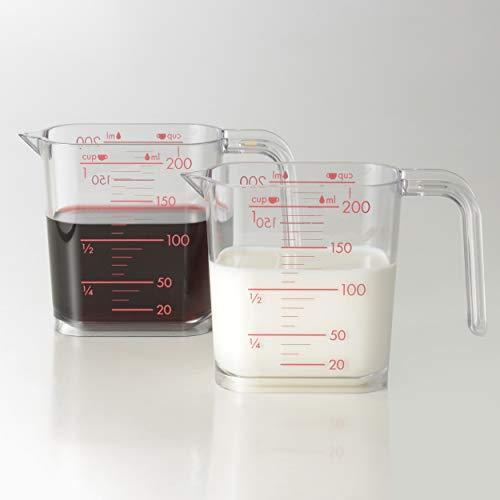和平フレイズ調理器具計量カップジー・クック200mlシルバーグレー食洗器対応日本製GC-262