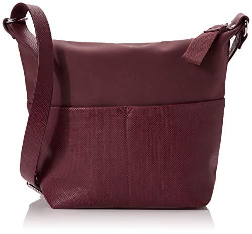 ESPRIT Accessoires Damen Vivien Shldbag Umhängetasche Rot (Bordeaux Red)