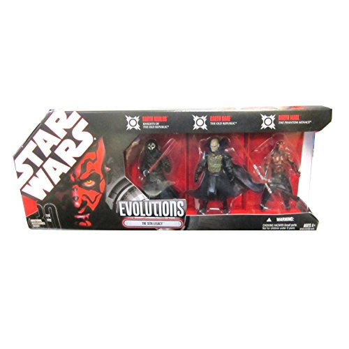 Hasbro Star Wars 3.75 Inch Evolutions - The Sith Legacy 3Pk