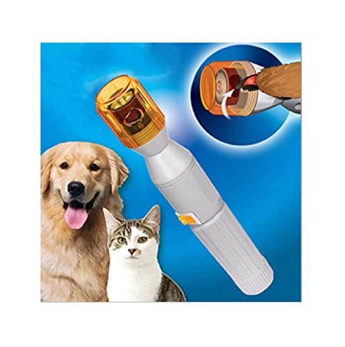 Dog Nail Trimmer,Dog Nail Grinder,Generic Upgraded Version Professional Pet Dog Nail Trimmer,Dog Nail File,Grooming Care Grinder Grooming Trimmer Clipper Drill Nail