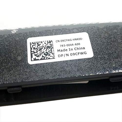 Gintai Laptop scharnieren Cover Vervanging voor 09CFWG 9CFWG Air Outlet Staart Vervanging voor Dell Alienware 17 R4 R5
