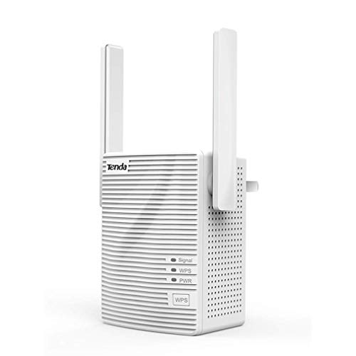 DRAGZJQ Repetidor de WiFI,amplificador de WLAN de banda dual de 2,4 y 5 GHz,amplificador de señal de 300Mbps económico