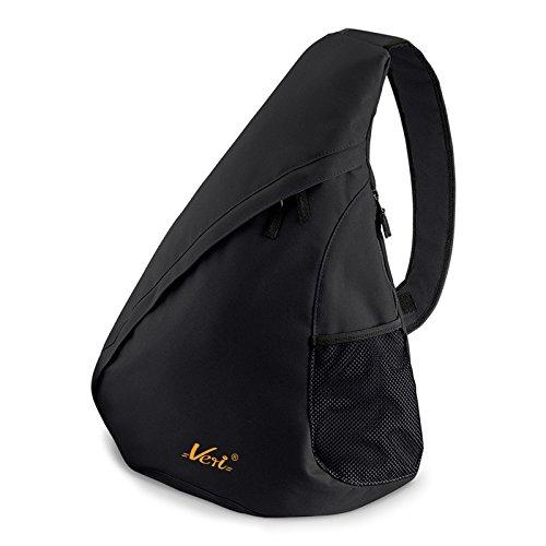 Umhänge Rucksack/Einträger Rucksack : Rucksack - Veri Logo - Crossbag Farbe: schwarz