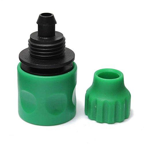 Bazaar 3/8 inch tuinslang snel joint kunststof sproeikop aansluitarmatuur