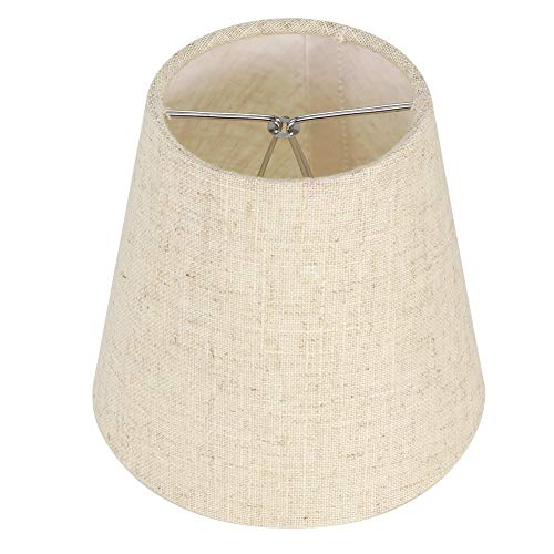 Pantalla de lámpara, Resistencia al Desgaste Larga Vida útil Materiales de PVC Pantalla de Tela para Estudio para Estudio