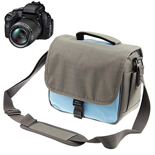 DMXYY Beruf Stilvolle Segeltuch-Digitalkamera Tasche mit Trageriemen, Größe: 24 cm x 20,5 cm x 14 cm