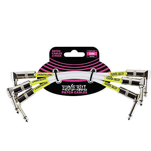 6. Ernie Ball Stage And Studio Patch Cable P06051