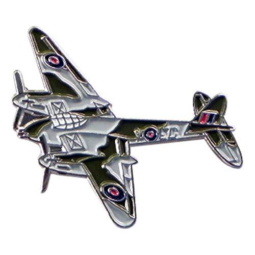 WW2 De Havilland mulitirole DH98 Mosquito Comabt Aeroplane Metal Enamel Pin Badge Lapel Brooch RAF