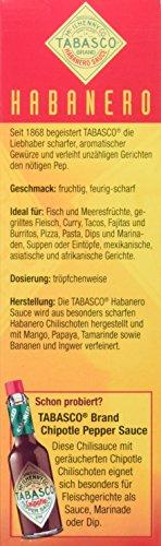 TABASCO Habanero Sauce 60 ml - 3