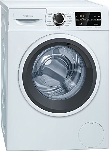 Balay 3TS988BP Independiente Carga frontal 8kg 1400RPM A+++ Blanco - Lavadora (Independiente, Carga frontal, Blanco, Botones, Giratorio, Izquierda, LED)