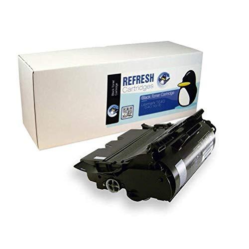 Refresh Cartridges Wiederaufgearbeitete Tonerkartusche für Lexmark 64016HE Schwarz
