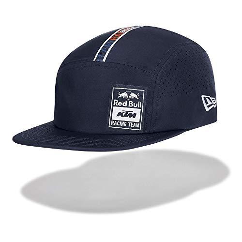 Red Bull KTM New Era Letra Camper Cap, Blau Unisex One Size Kappe, KTM Factory Racing Original Bekleidung & Merchandise