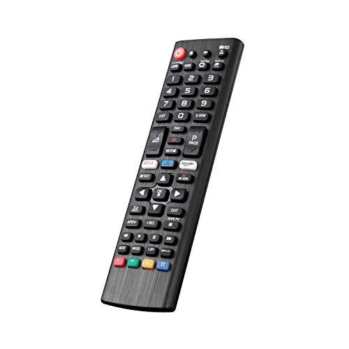 Nuovo Telecomando TV Sostitutivo Adatto Per Vari TV LG Ultra HD con Pulsanti Netflix Amazon - Nessuna Configurazione Richiesta TV Telecomando Universale AKB75095308 AKB74915324