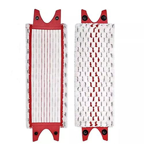 Reemplazo de Las Almohadillas de Microfibra para fregona de Piso para Recambio de fregona Piso Lavable Reemplazo de paño de fregona Plana en Aerosol