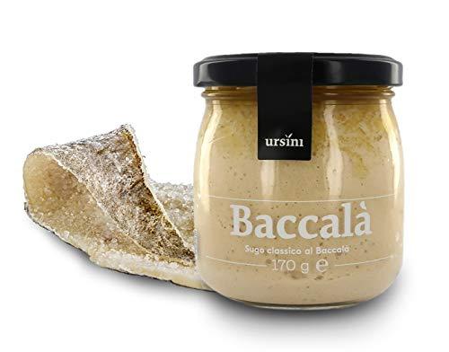 Ursini Salsa brandada de Bacalao con Aceite de Oliva Virgen Extra - 170 gr