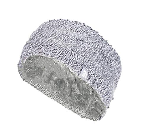 HEAT HOLDERS Bandeau d'hiver chaud pour femme ALTA (ALTA Light Grey)