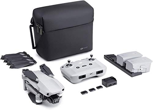 DJI Mavic Air 2 Bundle Fly More – Drone avec Vidéo 4K Ultra HD, Photo 48 Mégapixels, Capteur...