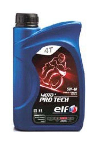 ELF Motoröl ÖL 4T 4-TAKT MOTO 4 PRO TECH 5W-40 5W40 JASO MA2 API SL - 1L 1 Liter