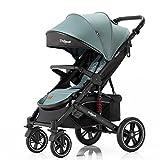 Daliya® Rapidy Buggy/Kinderwagen 0-36 Monate/Sportwagen mit Liegeposition/Wickeltasche,...