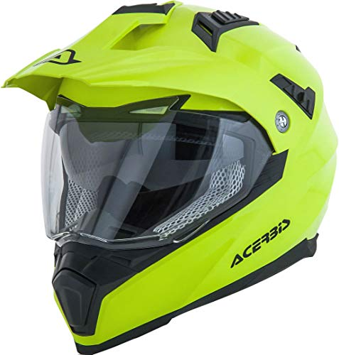 Acerbis - Casco Flip fs-606 amarillo neón, talla L (integral) multicolor (0022310.061.066)