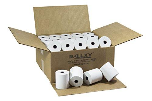 (50 Rolls) PosPaperRoll BPA FREE Thermal Paper - 3-1/8 x 230 Feet (Star TSP100)