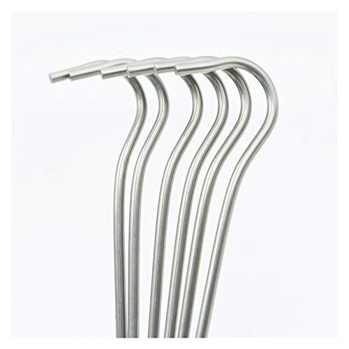 Clavija de tienda 10 unids / 6 unids titanio aleación de ti
