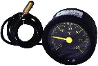 Expert by net - Termómetro redondo - 0° a +120°C diametro 58mm cap 900con vaina