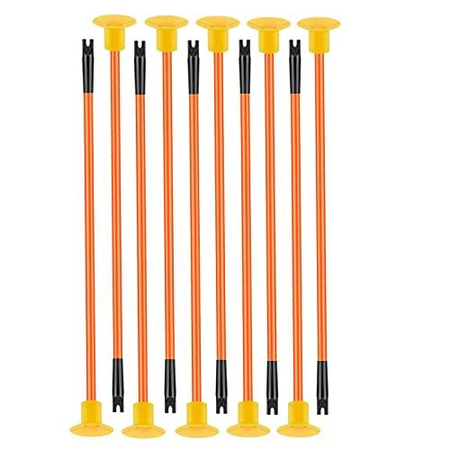 Oramics 10er Pack Kinder Bogenschießen Ersatzpfeile mit Saugnapf - sichere 41cm Lange Saugnapfpfeile für Schießbogen als 10-er Set - Kunststoff Indoor und Outdoor Bogenpfeile (Pfeile-Set)